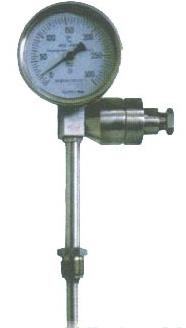供应带热电阻双金属温度计
