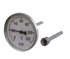 供应WSS系列热套式双金属温度计