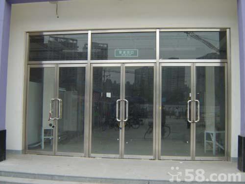 宣武区安装玻璃门图片