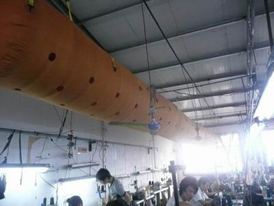 布袋风管图片/布袋风管样板图 (1)