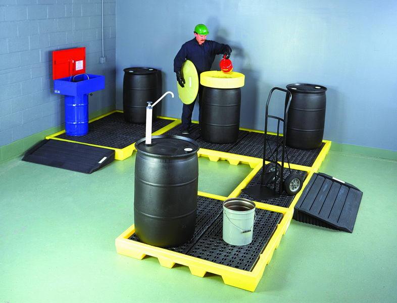 供應化學品油品泄漏控制產品盛漏托盤防漏托盤防溢托盤圖片