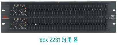 DBX 2231/231均衡器  DBX 1231均衡器 DBX PA/PAP/PX/260音频处理器批发