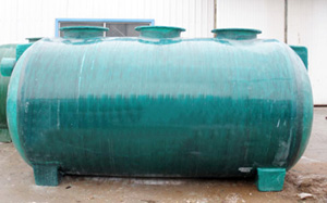 供应晋中玻璃钢玻璃钢化粪池图片