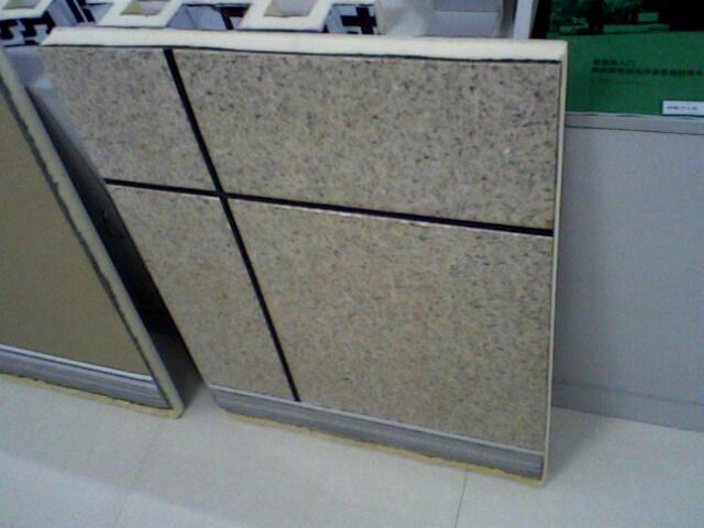 供应仿大理石聚氨酯保温装饰一体化板厂家双包