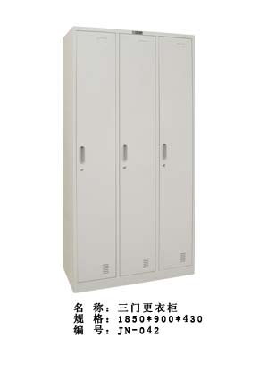 厂家批量供应东营铁制、不锈钢制更衣柜