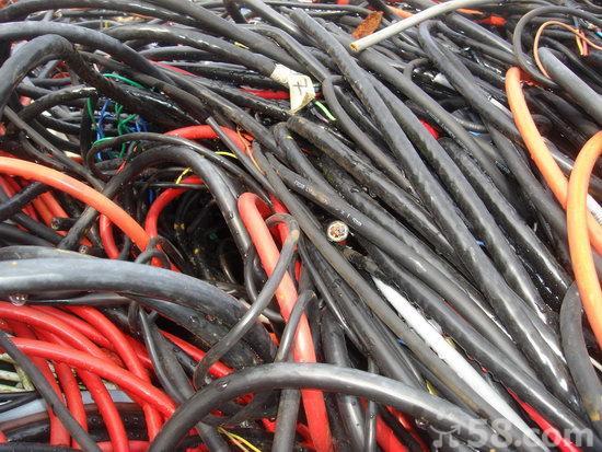 工业废旧电缆线收购 回收电缆线 厦门废电缆线回收公司图片