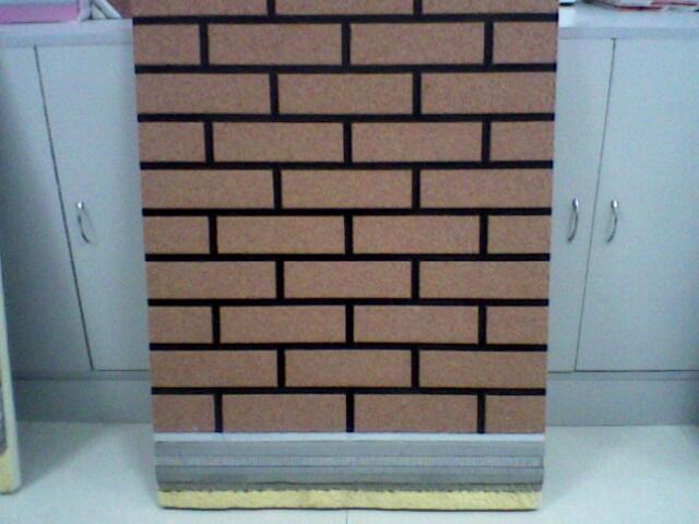 供应聚氨酯仿瓷砖保温装饰一体化板图片