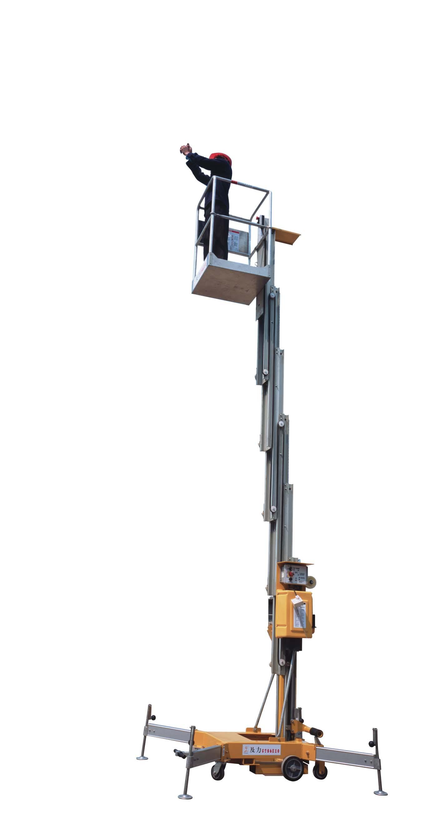 供应单桅柱升降机图片