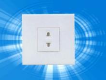 二极插座、一位二极插座,二孔插座、墙壁插座