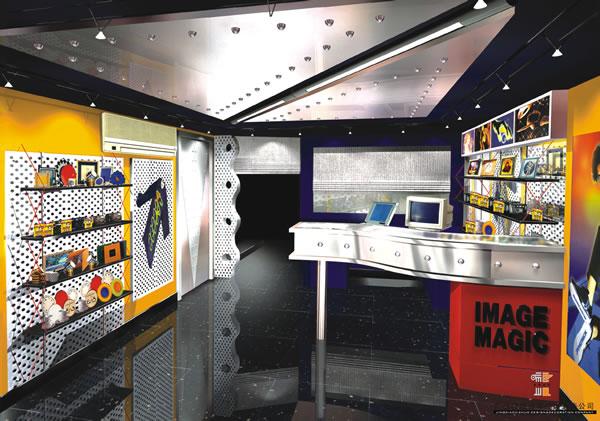 数码展示柜专柜展示台订做加工报价