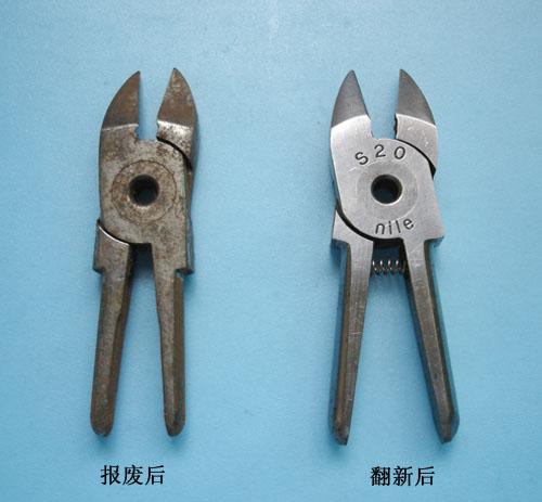 东莞气剪头修理 剪钳维修 剪钳打磨 剪钳返修