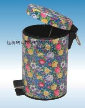 供应气染纸垃圾桶印花纸塑胶印花纸
