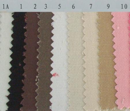 供应12安纯棉帆布染色家纺棉类系列面料批发