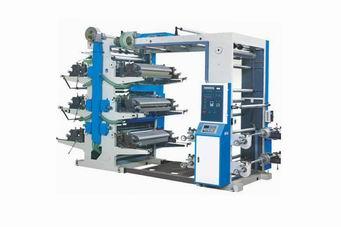 供应六色柔性凸版印刷机成都印刷机凸版印刷机四川印刷机贵州云南印刷图片