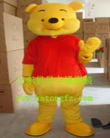 供应维尼熊熊猫小熊卡通服装卡通人偶婚庆表演服饰演出服装儿童服装