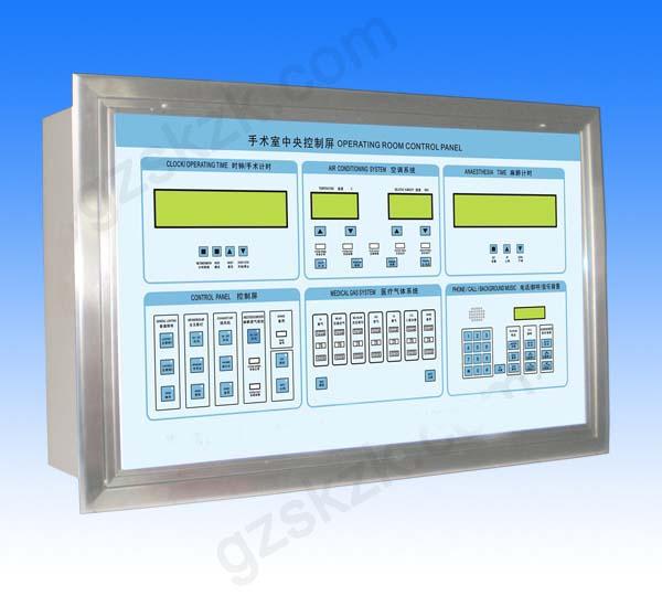 手术室控制面板、手术室中央控制面板、手术室情报面板图片