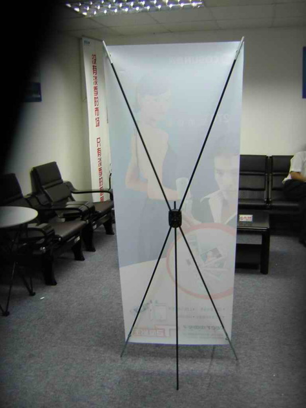 供應展示器材X架圖片