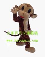 供应跳跳猴乖乖猴泰国象大象卡通服装动漫行走人偶服饰表演演出服装批发