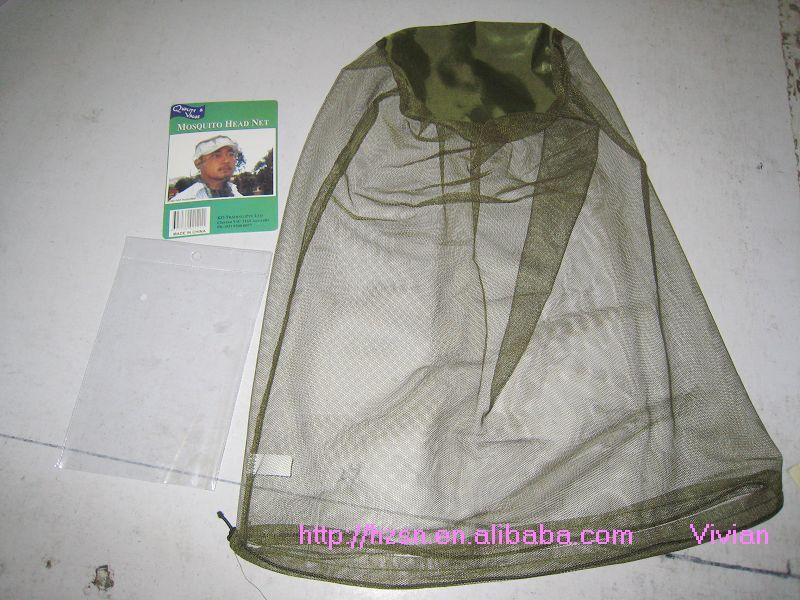 供应军用农用防护防虫面罩头罩批发