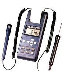 供应TES-1362温湿度计图片