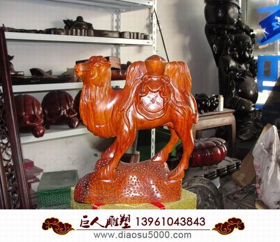 木雕动物图片