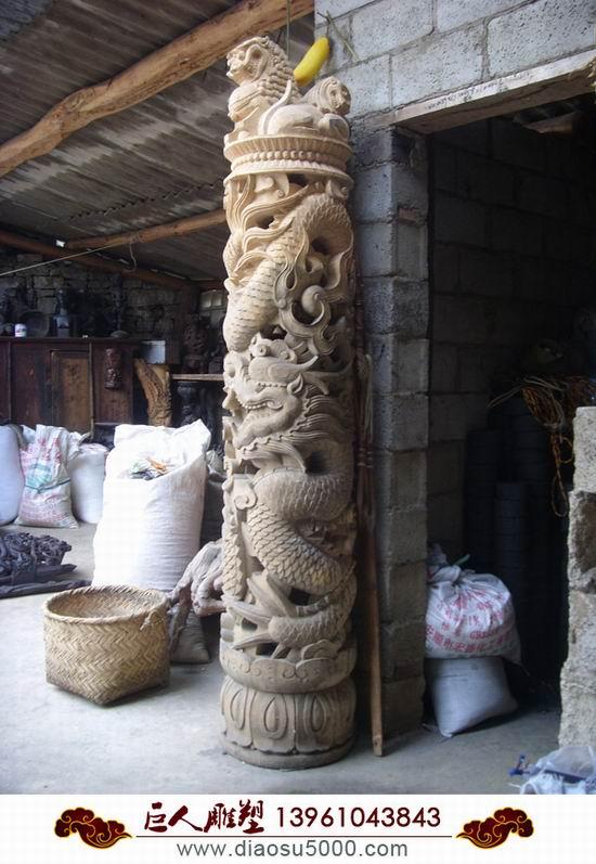 木雕雕刻厂图片