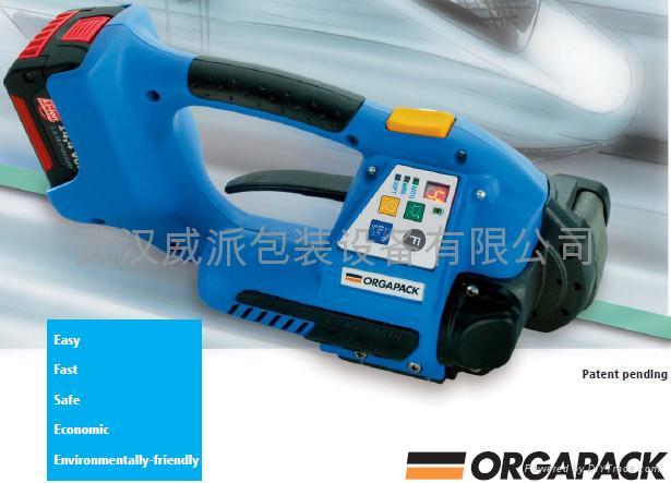 供应瑞士ORT250电动塑钢带打包机,打包机