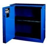 供应厂家直销家蓝色单开门防腐蚀性液体工业安全柜