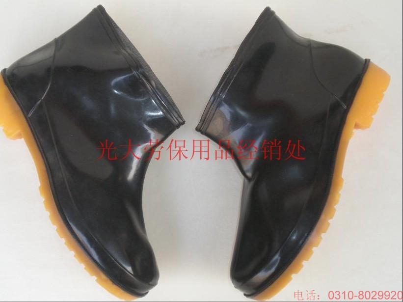 供应短腰雨鞋