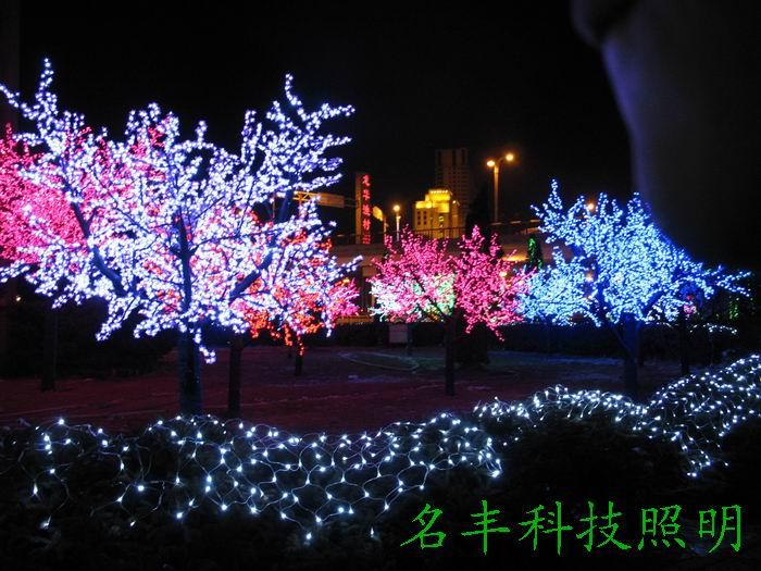 led桃花树灯图片