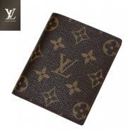 LV奢侈品牌经典老花男女适用钱包图片