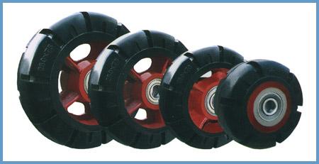 供应胶轮,衡力胶轮厂,橡胶轮的特点