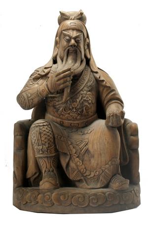 供应关公木雕佛像