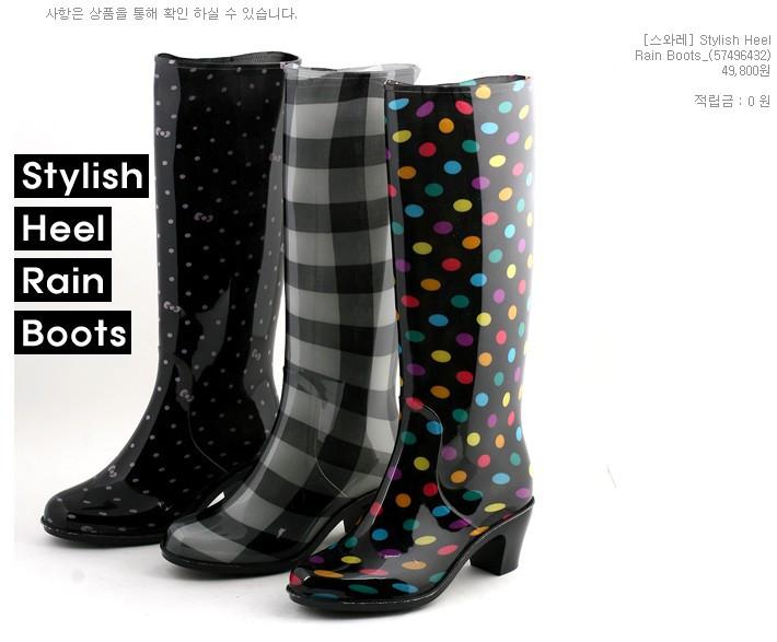 橡胶时尚雨鞋雨靴