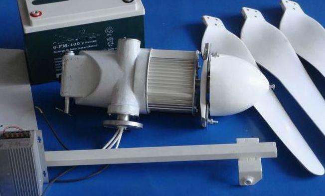 风光互补风力发电机;;