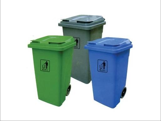 西藏带轮垃圾桶图片