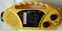 供应手摇收音机,太阳能收音机,收音机电筒,收音机