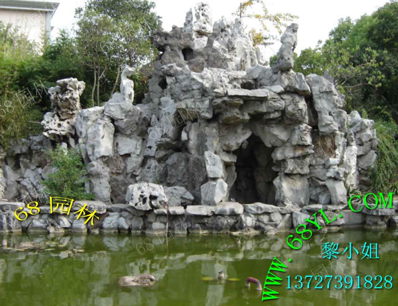 供应大型塑石假山,园林假山,仿真假山石