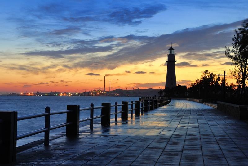 武汉到山东旅游3 青岛崂山威海烟台蓬莱大连旅顺双卧八日游