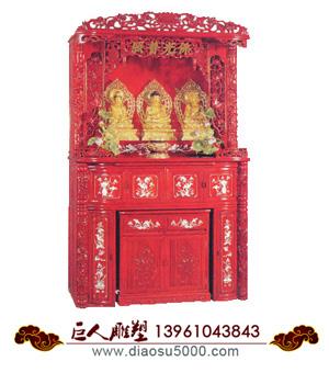 佛龛木雕神龛图片