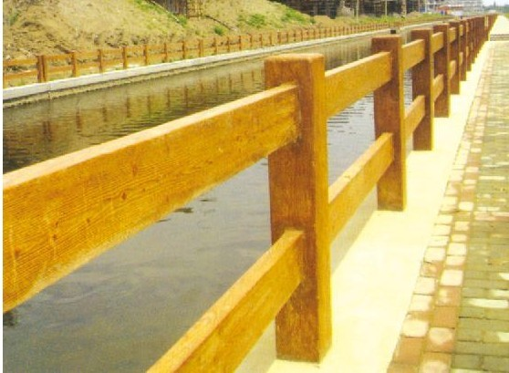应青岛仿木栏杆lg-17
