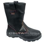 代尔塔高帮单钢安全靴批发