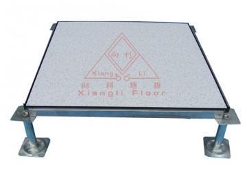 供应电子厂房地板;洁净室防静电地板图片