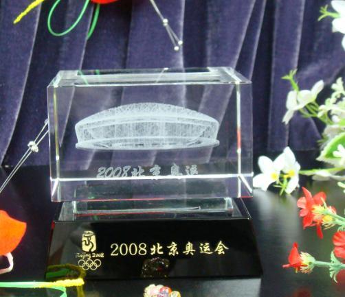 上海水晶标志性建筑物礼品,金融公司周年庆纪念品,员工留念小礼品批发