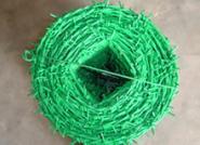PVC涂塑刺绳 浸塑刺绳图片