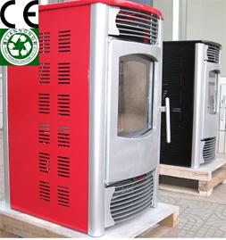 供应取暖家用环保颗粒壁炉图片