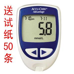 西安罗康全血糖仪图片