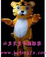 供应山东济南卡通服装卡通人偶服饰老虎毛绒人偶玩具服装迪士尼服装图片