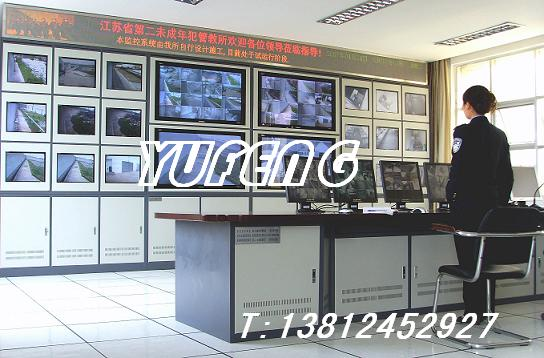 供应南京监控电视墙架屏幕墙机柜
