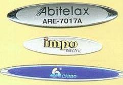 设计制作各种水晶滴胶商标